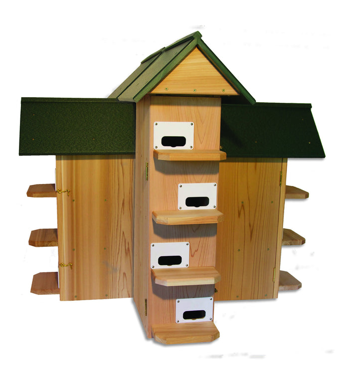 Troyer T-14 Purple Martin House