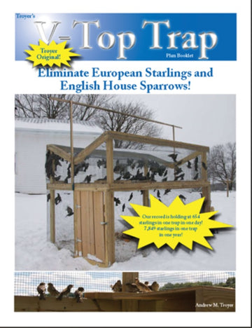 Booklet - V-Top Starling and Sparrow Trap Plans