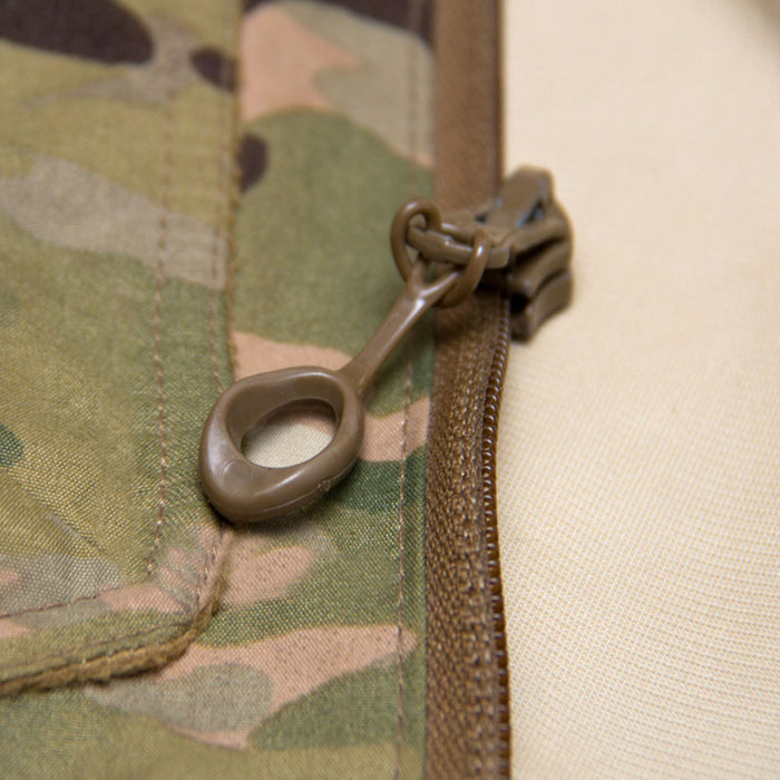 Zipline Elastic Zipper Pull - Orbit (Tan)
