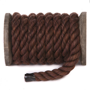 Twisted Cotton Rope (Chocolate)