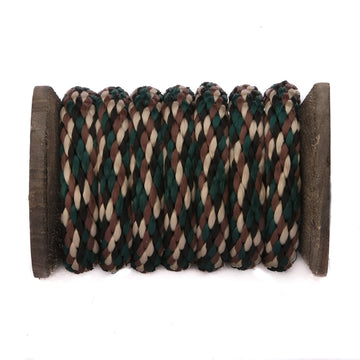Solid Braid Polypropylene Utility Rope (Woodland Camo)