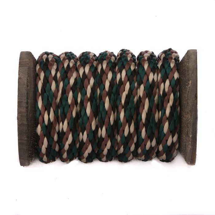 Solid Braid Polypropylen Utility Rope (Woodland Camo)
