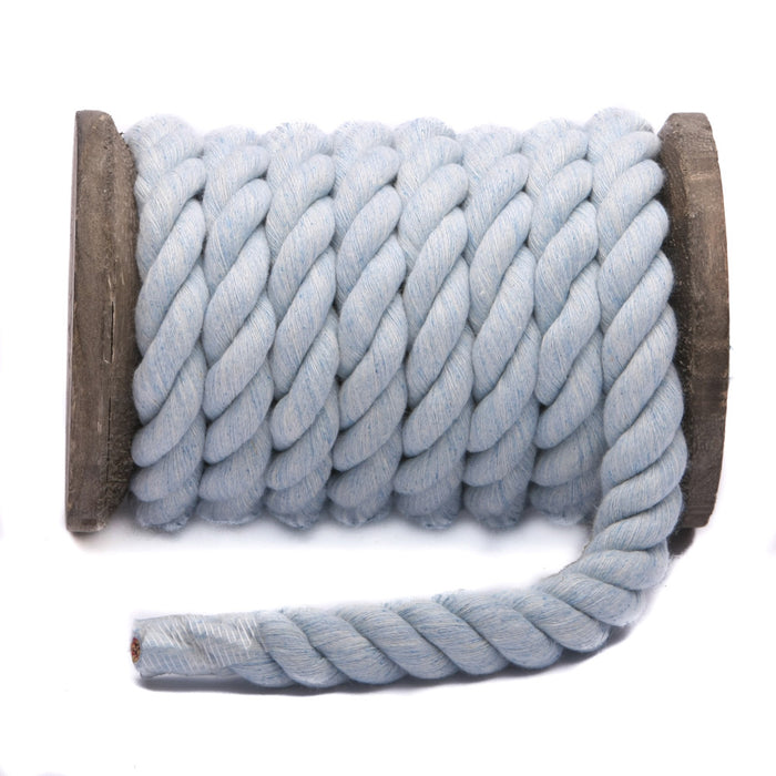 Twisted Cotton Rope (Sky Blue)