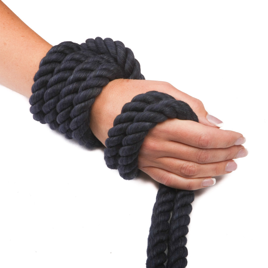 Twisted Cotton Rope (Navy Blue)