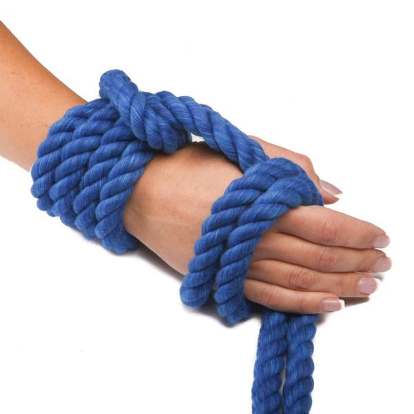 Twisted Cotton Rope (Royal Blue)
