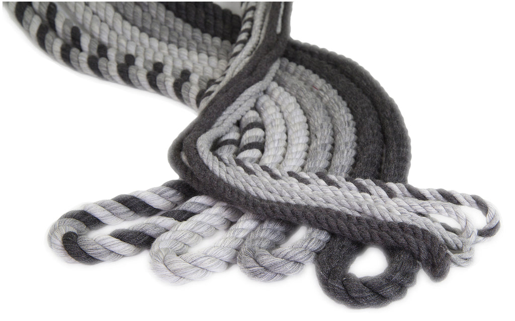 Twisted Cotton Rope (Light Grey)