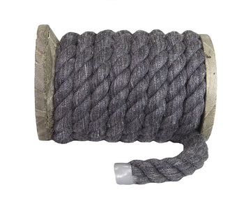 Twisted Cotton Rope (Dark Grey)
