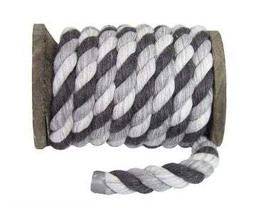 Twisted Cotton Rope (Shades of Grey)