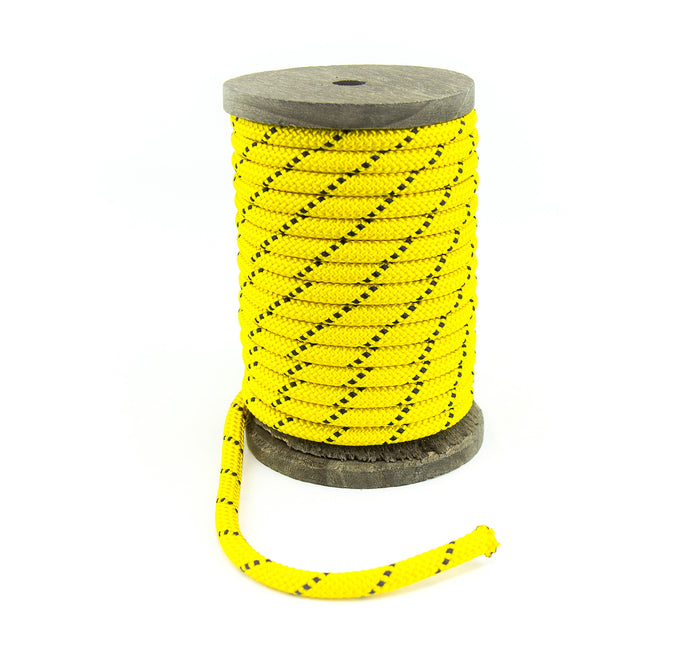 Nylon Kernmantle Composite Accessory Cord (Yellow)