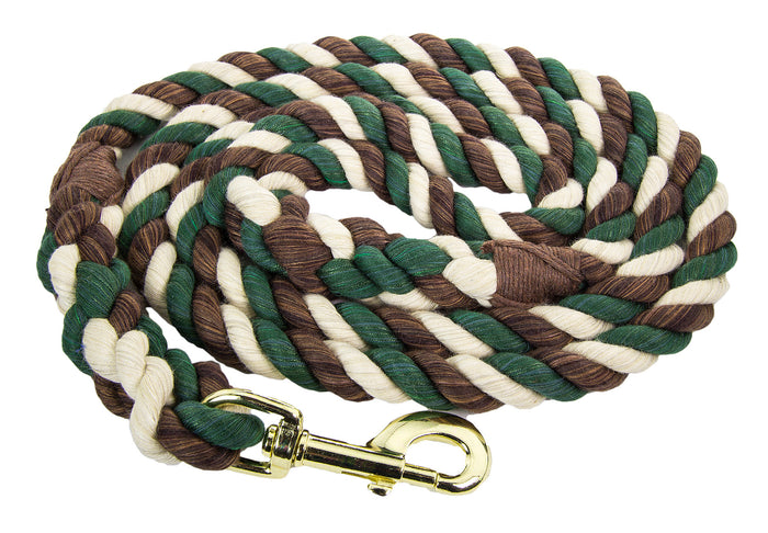 Handmade Twisted Cotton Rope Dog Leash (Camouflage)