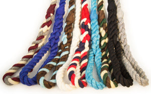 Handmade Twisted Cotton Rope Dog, Pet and Horse Lead/Leash (Turquoise)