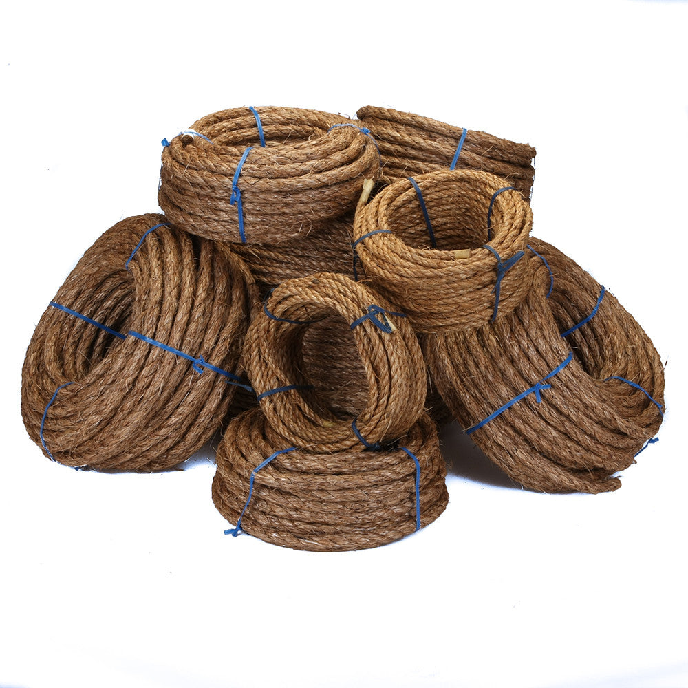 1/2-Inch Twisted Manila Rope