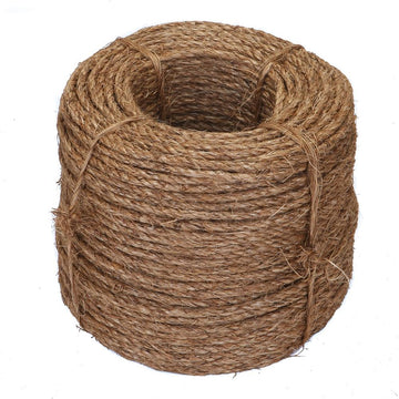 Ravenox Twisted Manila Rope Hemp Rope Tog of War Gym Indoor Outdoor Decor