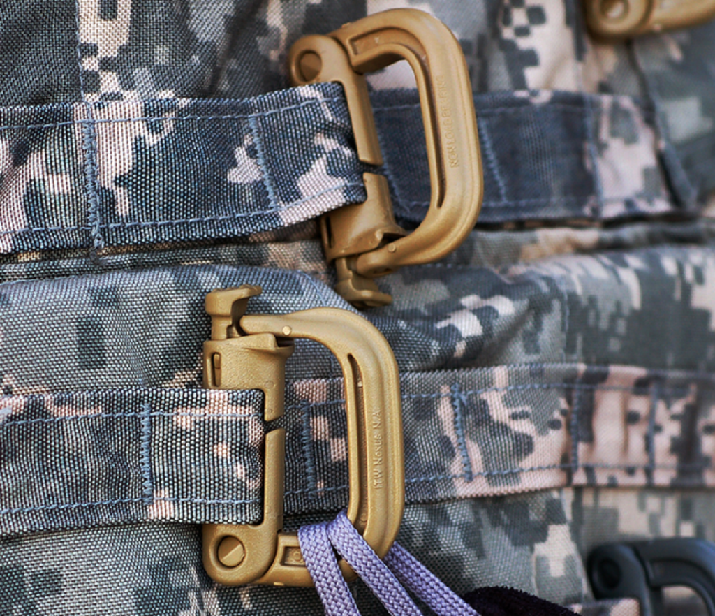 FMS Tactical GrimLOC Locking MOLLE Carabiner