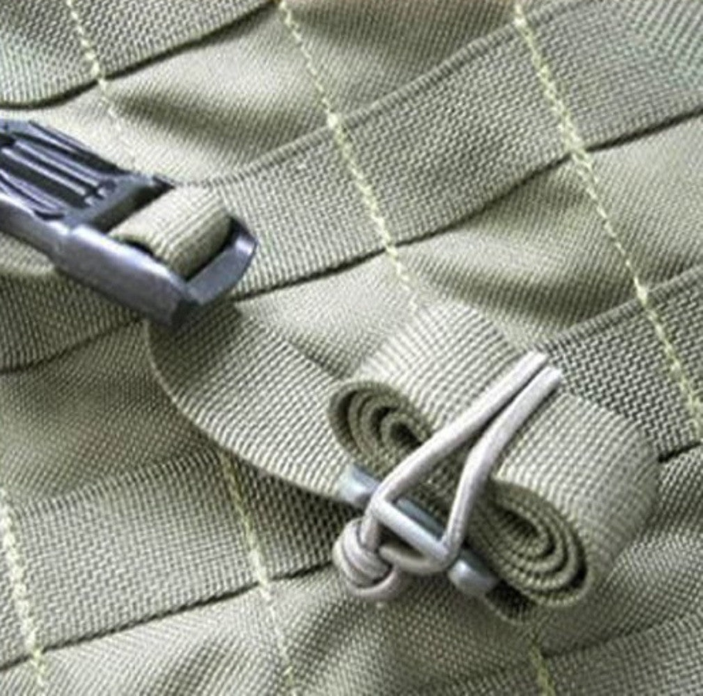 FMS Web Dominator Tactical Strap with Elastic Cord Backpack and MOLLE Web Management Tool