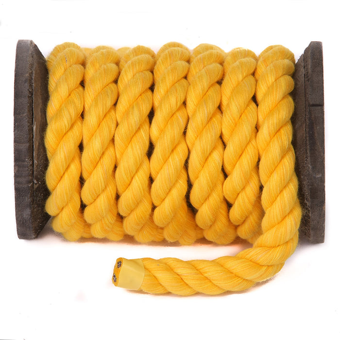 Twisted Cotton Rope (Gold)