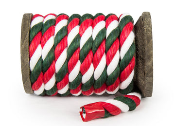 Twisted Cotton Rope (Christmas)