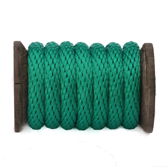 Solid Braid Polypropylen Utility Rope (Gréng)