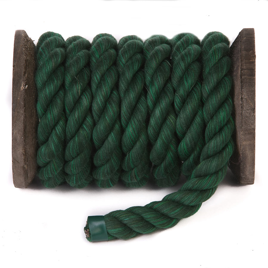 Twisted Cotton Rope (Green)