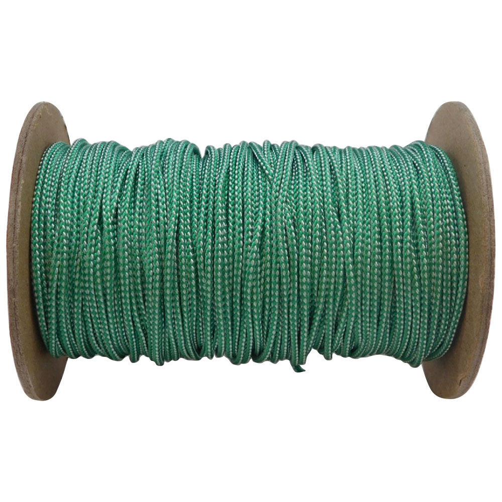 FMS Spectra 1.8mm 400 Pound Heavy Duty Spectra Utility Cord (Green & White)