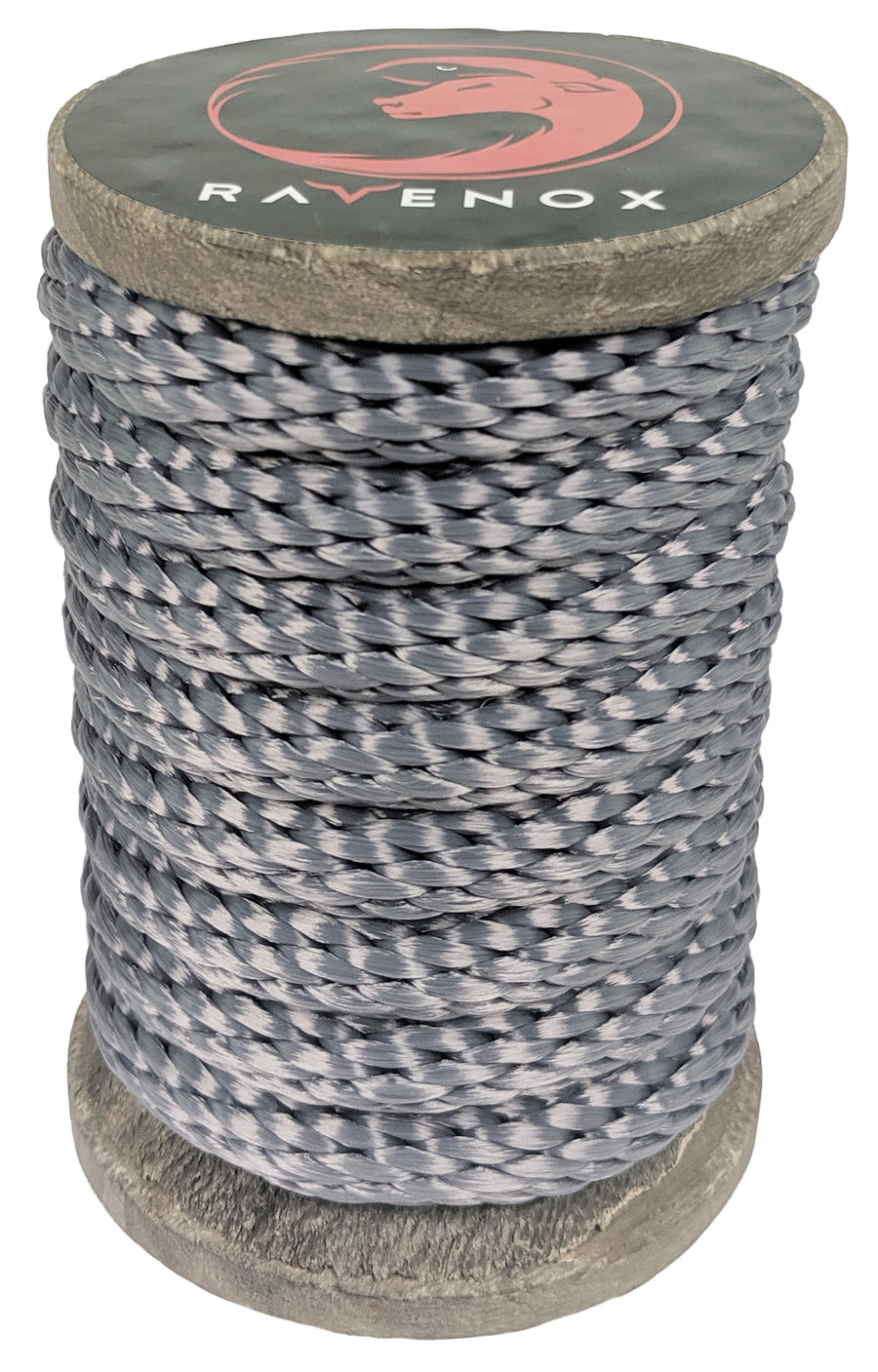 Solid Braid Polyester Rope (Grey)