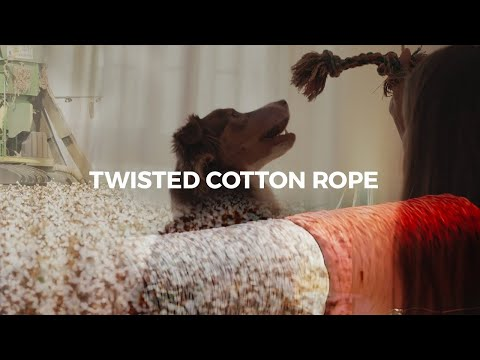Twisted Cotton Rope (Hot Pink)