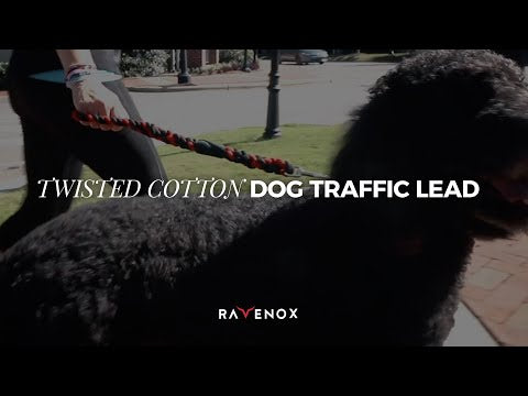 Handmade Cotton Traffic Handle Short Dog Leash