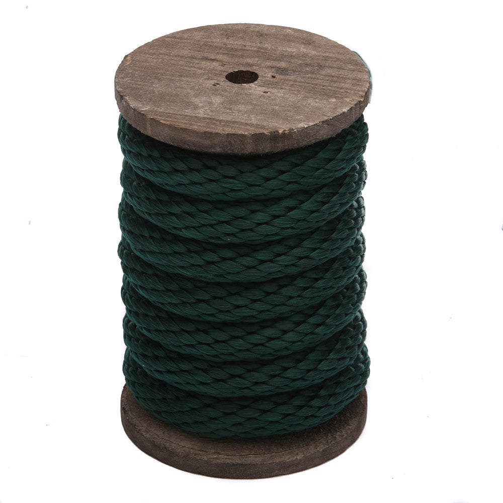 Solid Braid MFP Derby Utility Rope (Hunter Green)
