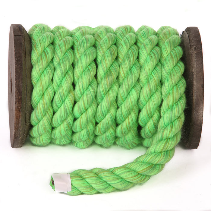Twisted Cotton Rope (Lime)