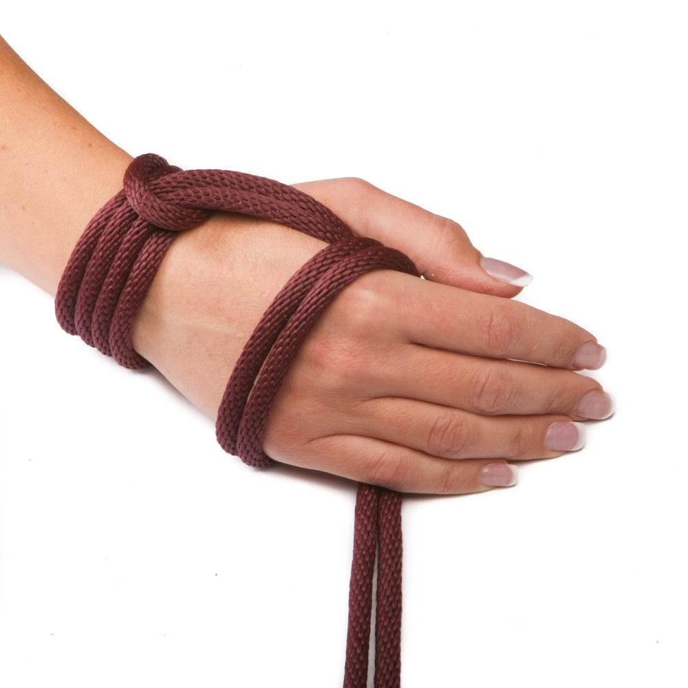 Solid Braid MFP Derby Utility Rope (Burgundy)