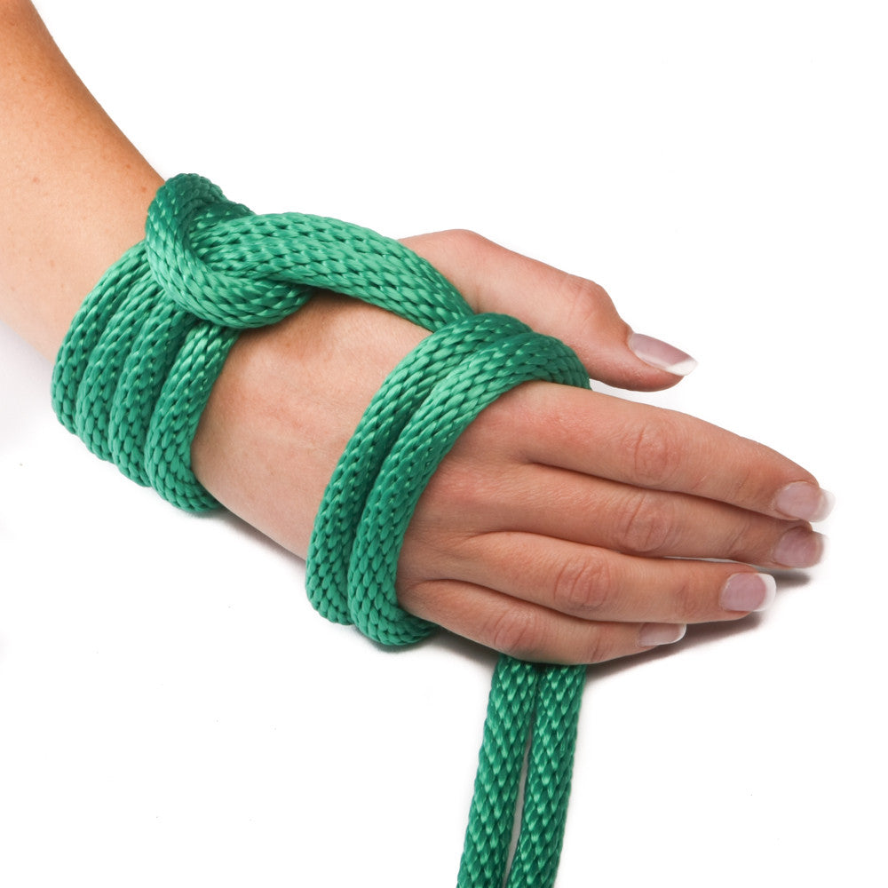 Solid Braid Polypropylene Utility Rope (Green)
