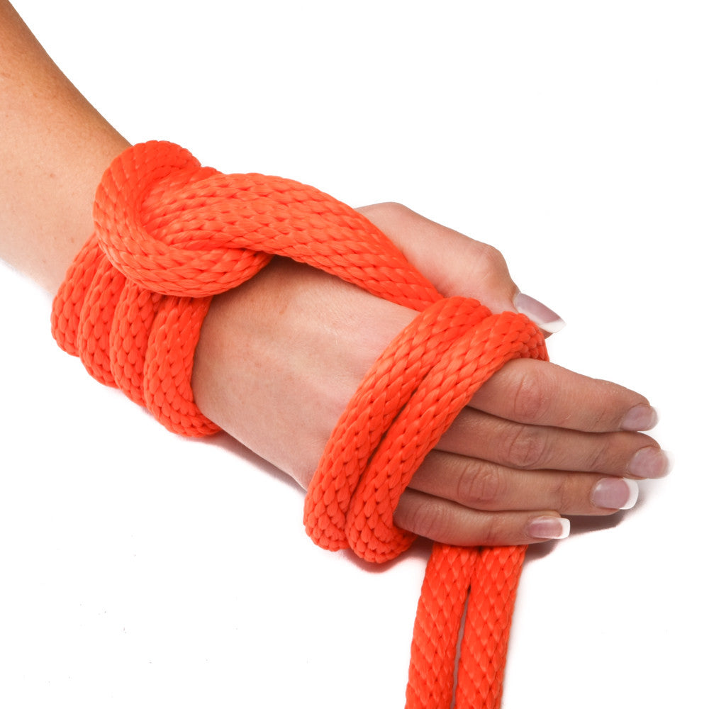 Solid Braid MFP Derby Utility Rope (Orange)