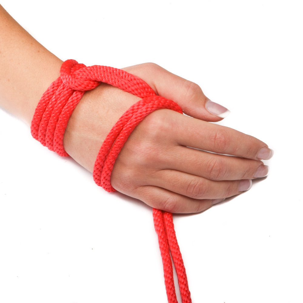 Solid Braid MFP Derby Utility Rope (Red)