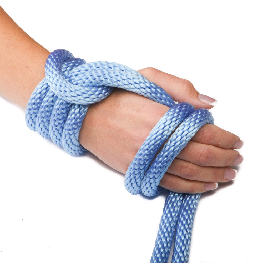 Solid Braid Polypropylene Utility Rope (Sky Blue)