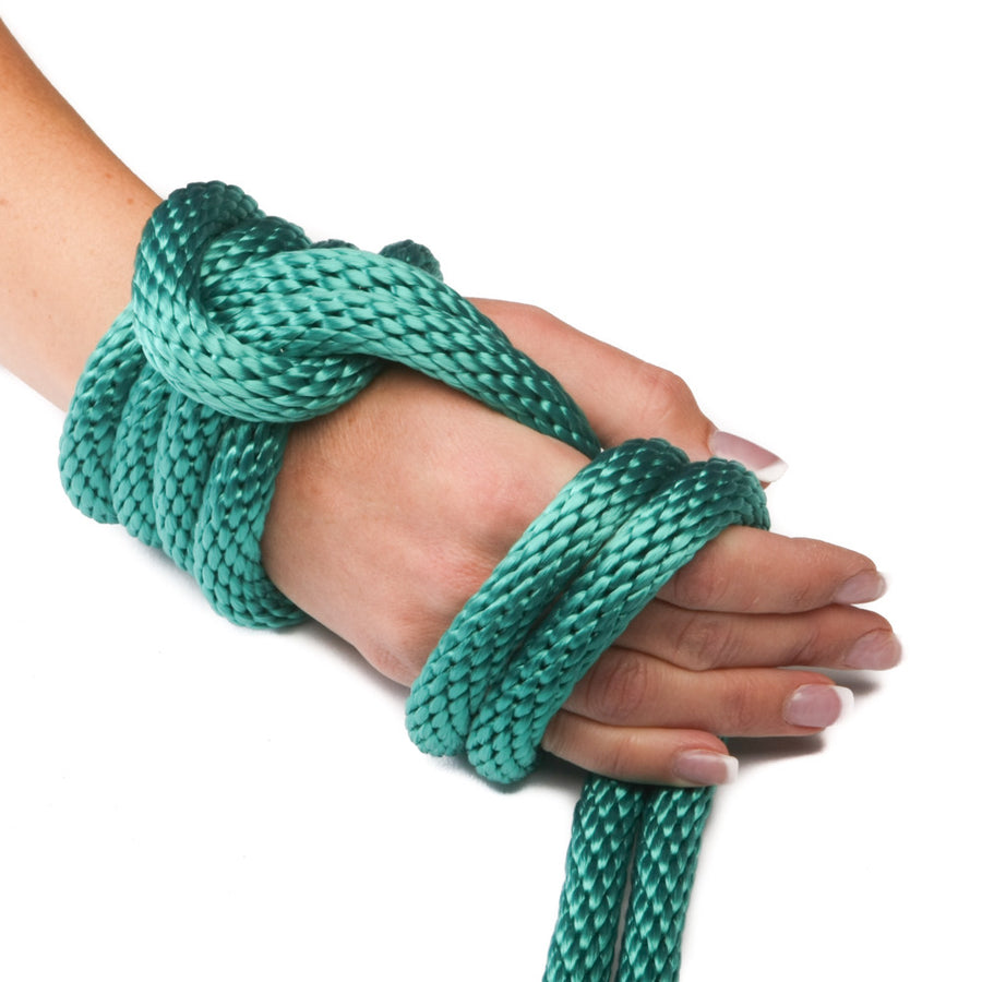 Ravenox Turquoise Solid Braid Polypropylene Rope