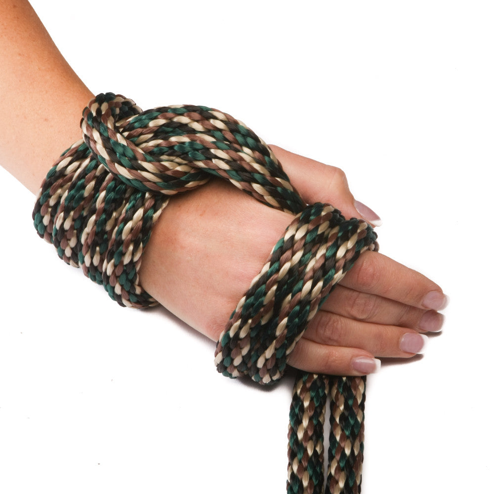 Solid Braid MFP Derby Utility Rope (Woodland Camo)