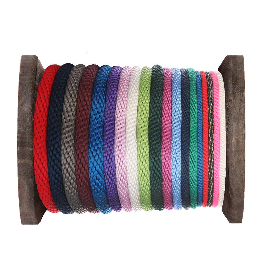 Ravenox Solid Braid Polypropylene Rope - Assorted Colors
