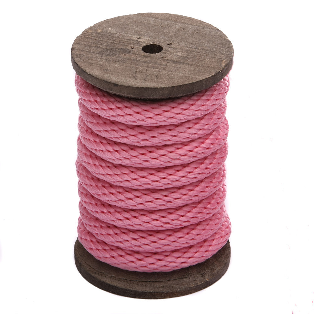 Solid Braid MFP Derby Utility Rope (Rose Pink)