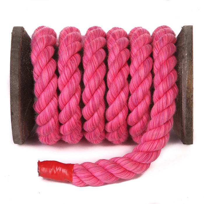Rope Cotton Twisted (Pink Hot)