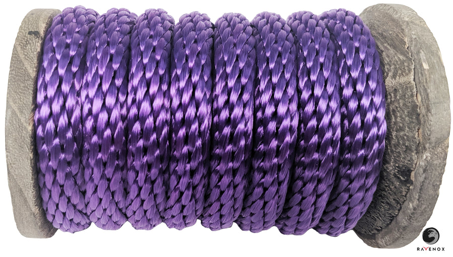Solid Braid Polyester Rope (Purple)