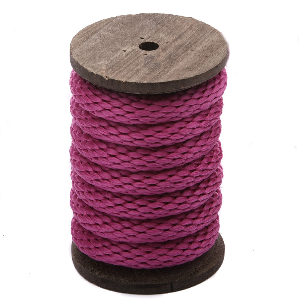 Solid Braid MFP Derby Utility Rope (Raspberry)