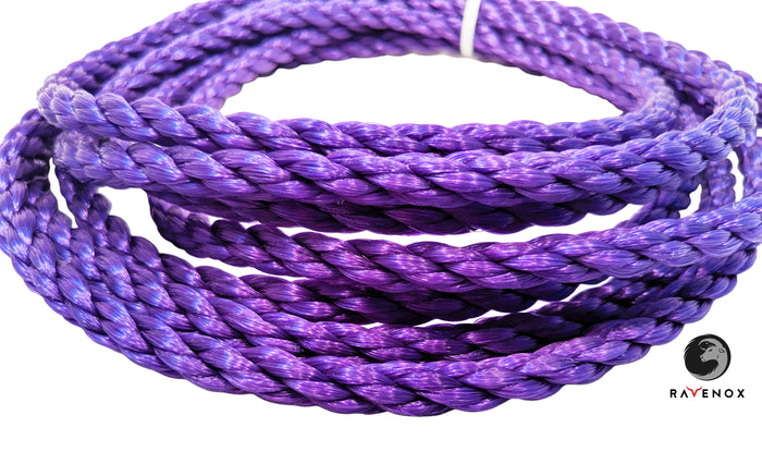Twisted Polypropylene Rope (Purple)