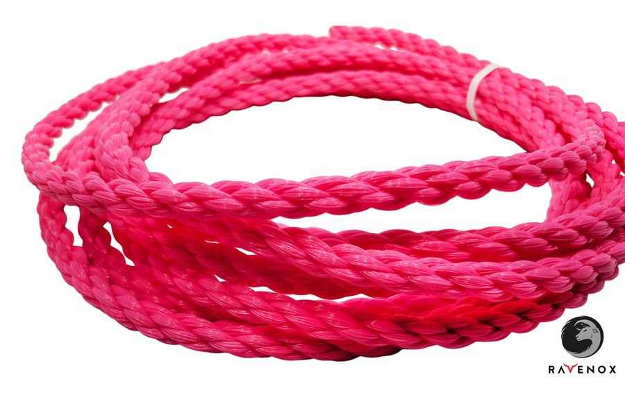 Twisted Polypropylene Rope (Hot Pink)