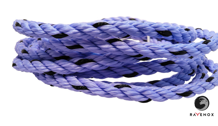 Twisted Polypropylene Rope (Lavender with Black Tracer)