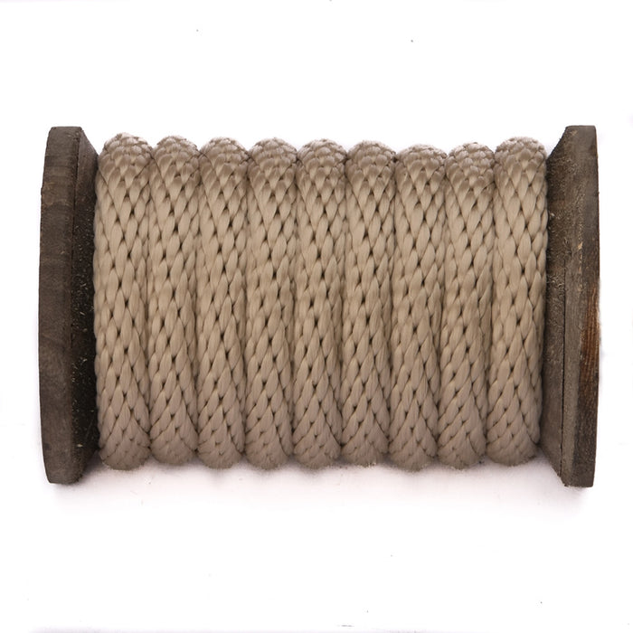 Solid Braid MFP Derby Utility Rope (Tan)