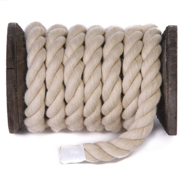 Twisted Cotton Rope and Twine (Tan)