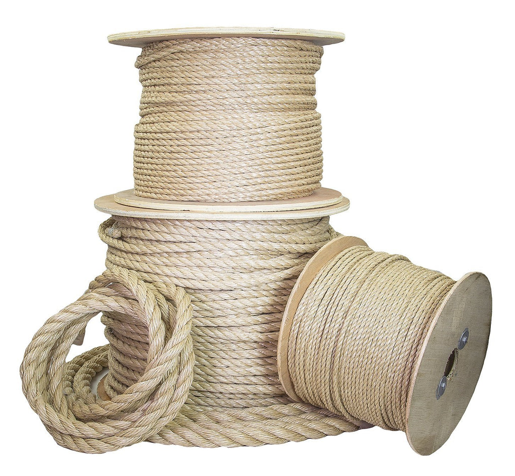 1/2-Inch Twisted UnManila Rope (ProManila)