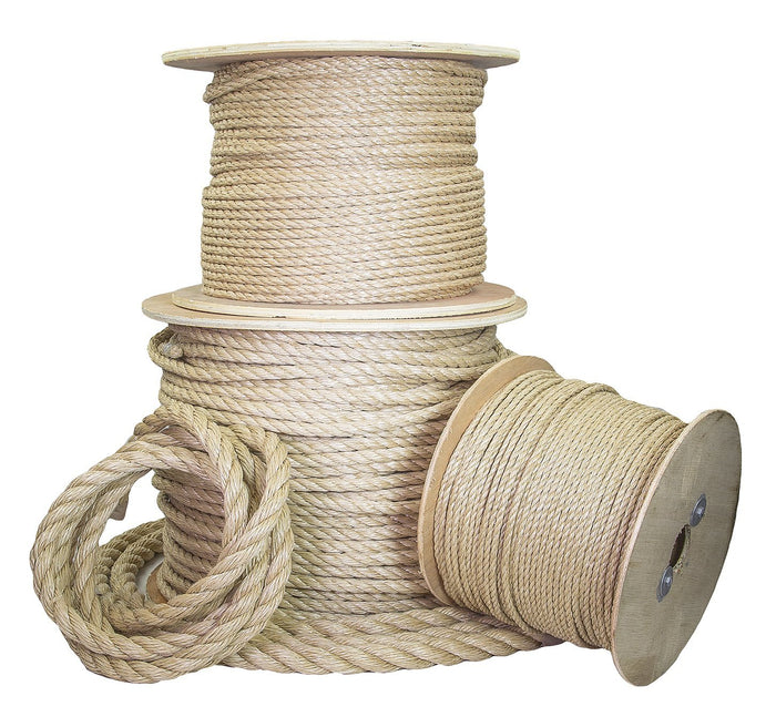 3/4-Inch Twisted UnManila Rope (ProManila)
