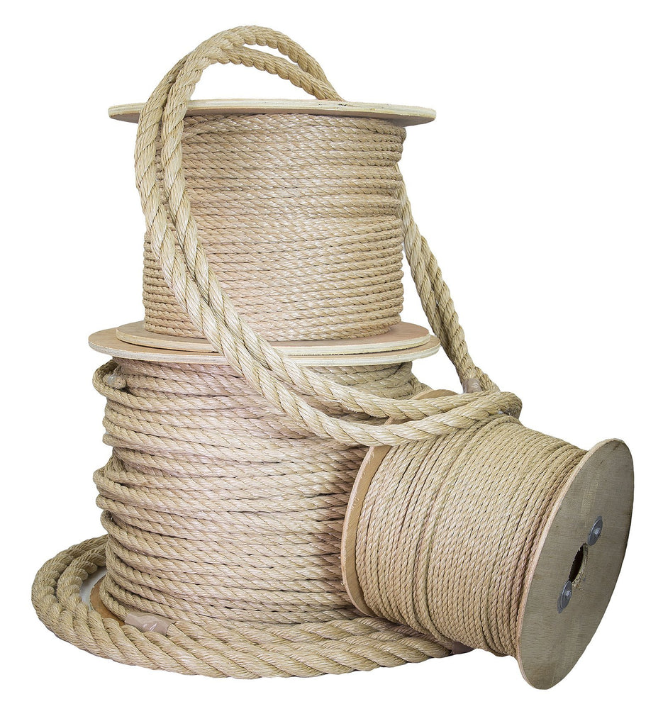 5/8-Inch Twisted UnManila Rope (ProManila)