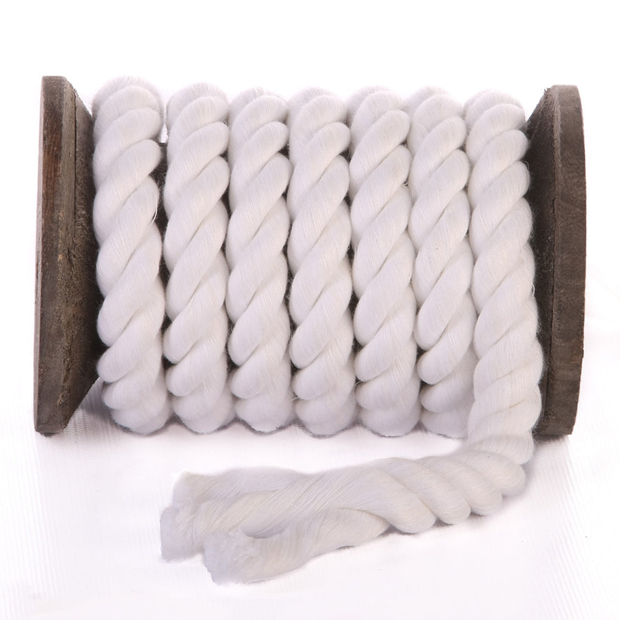 Twisted Cotton Rope (Snow White)